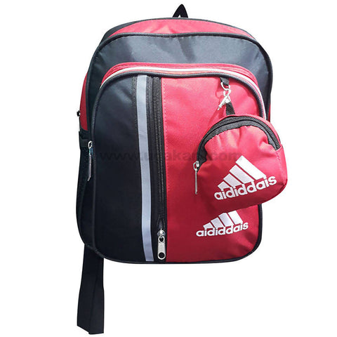 Kid's Black & Red School Bag