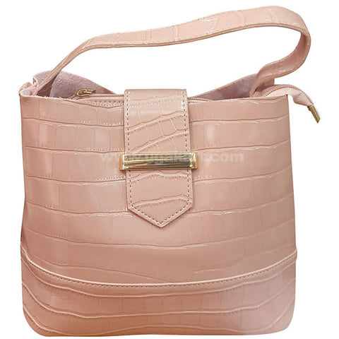 Cream Ladies Hand Bag
