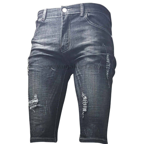 Destroyed Shorts Jeans For Women_28 to 34