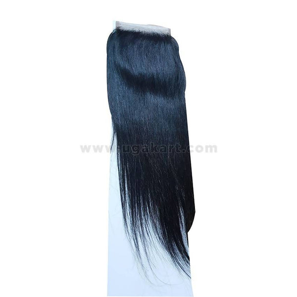 Human Straight Hair Black Weave-Front 4/4