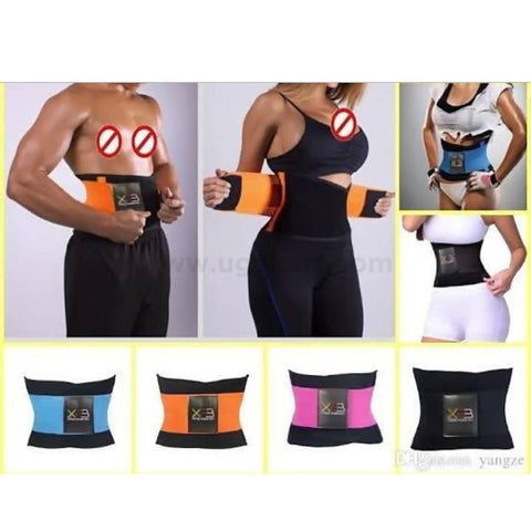 Waist Trainer & Cincher Trimmer Belt Free Size