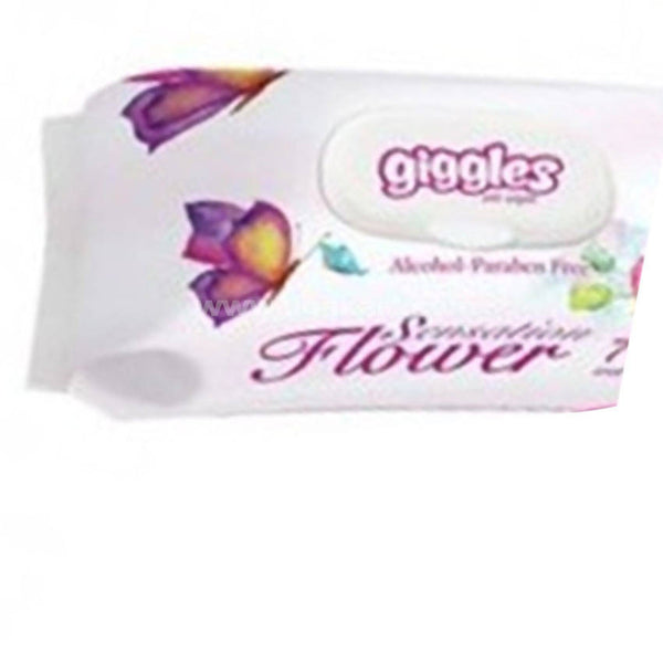Giggless Baby Wet Wipes Sensation 72 Pcs