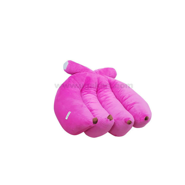 Pink Banana Type Cushion