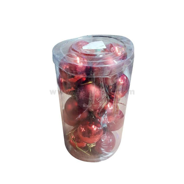 Decorations Balls-Red -20Pc