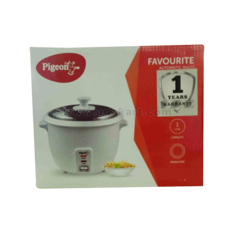 Pigeon Favourite Automatic Multi Cooker For Rice-1.8Ltr