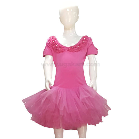 Pink Color Dress For Girls Kids 1 to 3 yr