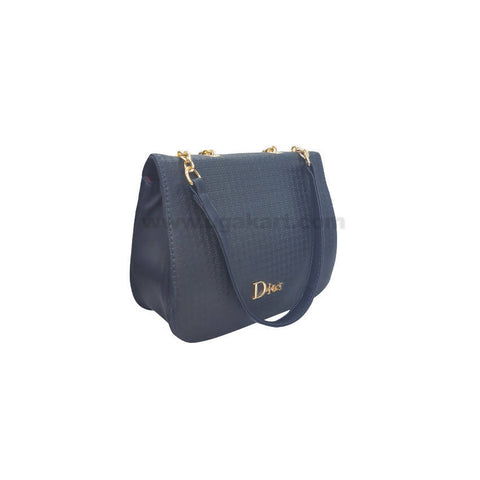 Dior Blue Hand Bag For Women's