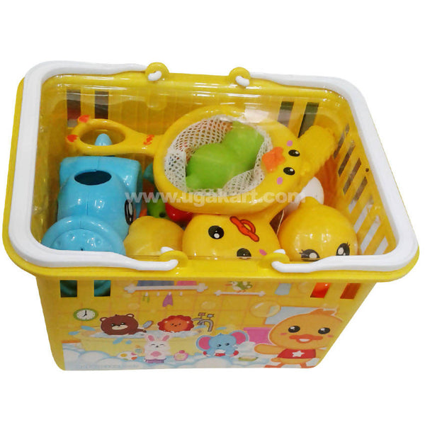 Yellow Baby Toy Basket