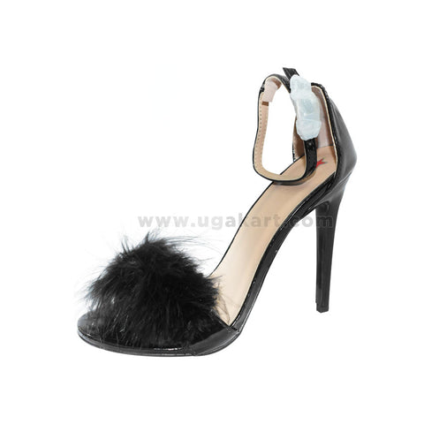 Black High Heel Ladies Shoes