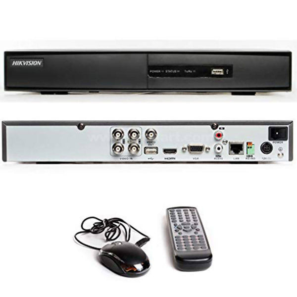 Turbo HD DVR 4-ch video