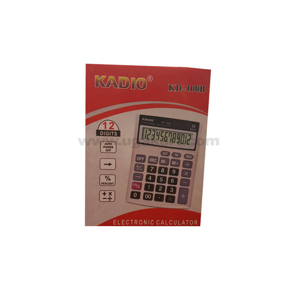Kadio Kd-100B 12 Digits Calculator