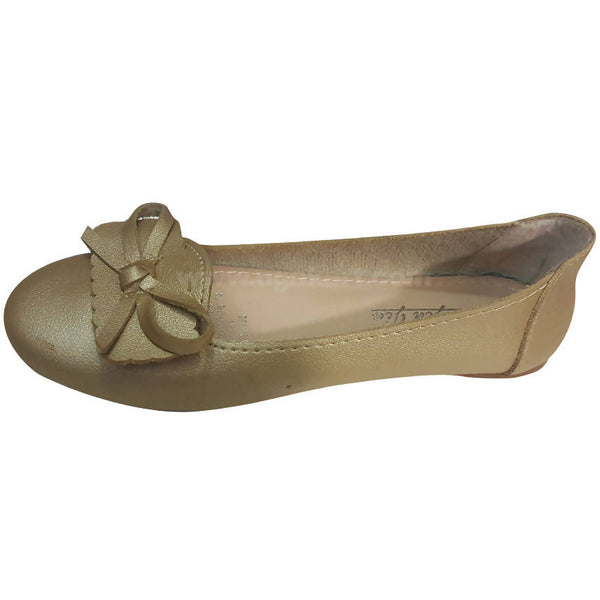 Chic, Comfortable Flats-Gold(Size-28 to 36)