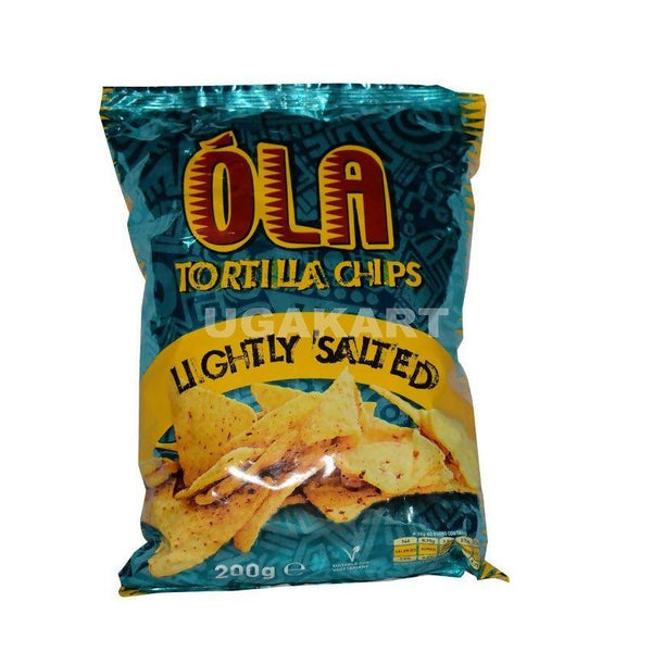 Ola Tortilla Chips (Lightly Salted) 200Gm