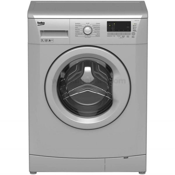Beko WMB71233S Front Load 7Kg 1200rpm Washing Machine_Silver