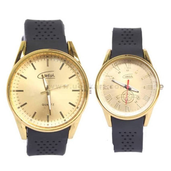 Couple's Casual Watches-Men and Women - Black