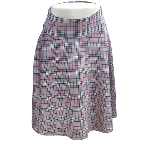 Women's Skirt Checked