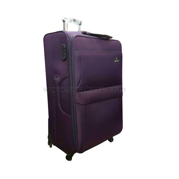 Gemulan Travel Suit Case Purple (Trolly Bag) (Medium Size)