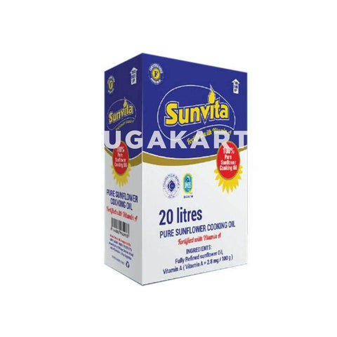 Sunvita Sunflower Cooking Oil 20Liters