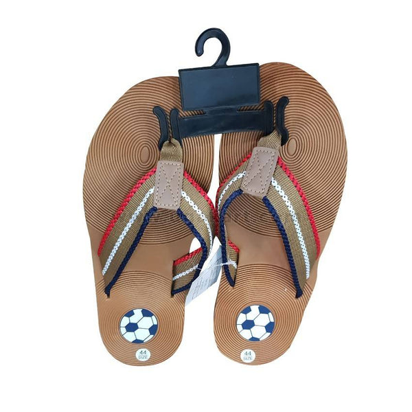 Mens Open Sandals - Brown