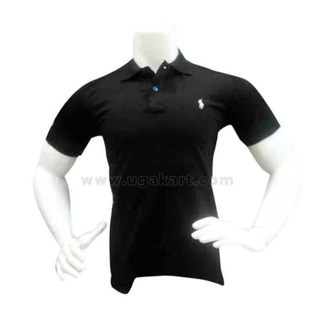 Black Polo Tshirt For Mens