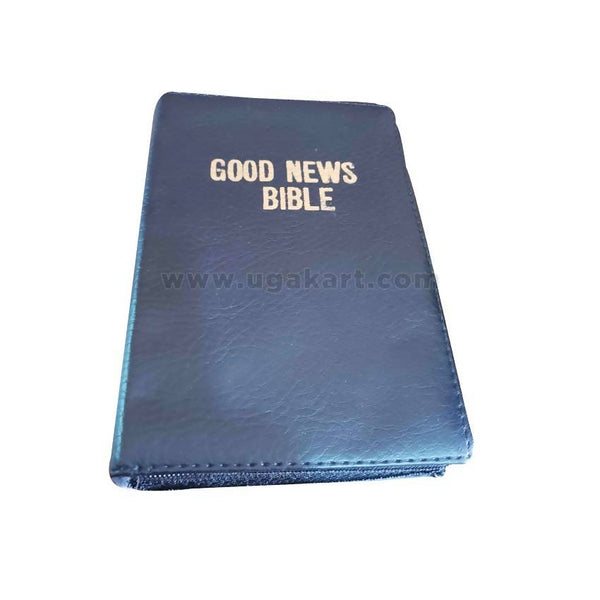 Good News Bible_Niv_Black With Zip