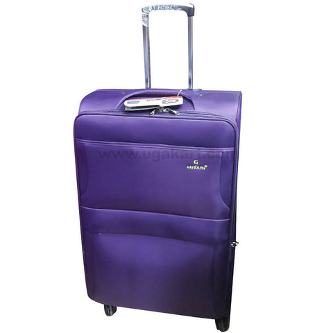 Gemulan Purple Spinner Luggage Suitcase (Medium)