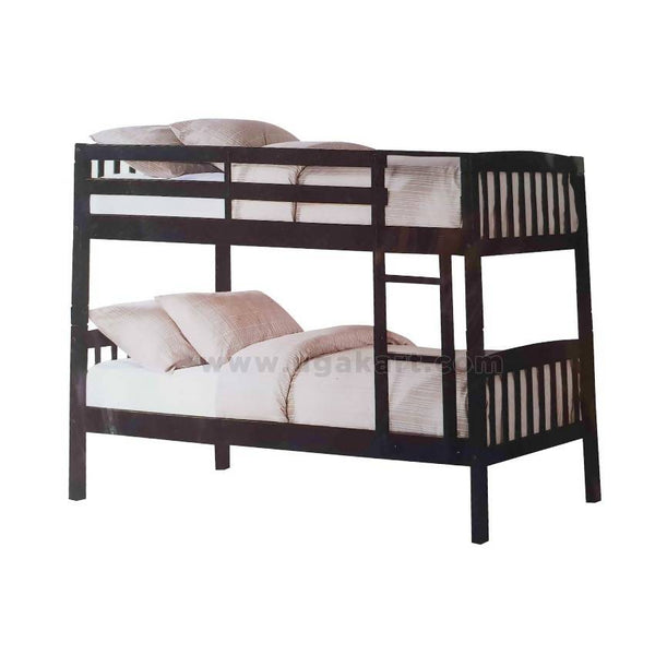 Double Decker Kids Wooden Double Decker Bed-Size 3/6,4/6
