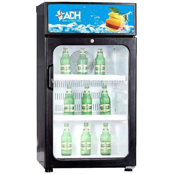 ADH 125 Liters Display Beverage cooler single door Refrigerator