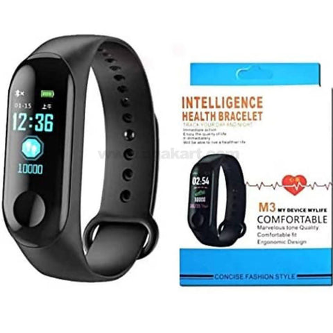Black Health Fitness Unisex Intelligence Health Bracelet