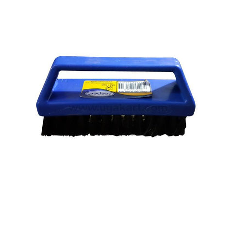 Black And Blue Scrubbing Brush 4.5Inches