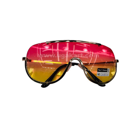 Pink And Yellow Tinted Sunglasses