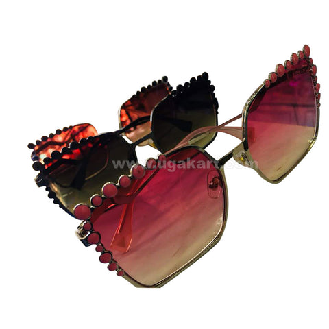 Ladies Square Tinted Sunglasses (Price Per Piece)