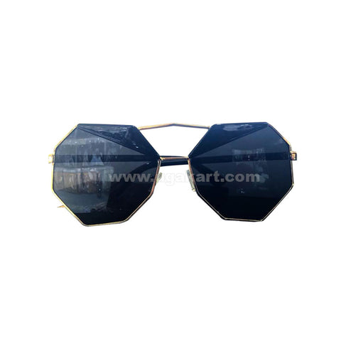 Black Tinted Sun Glasses