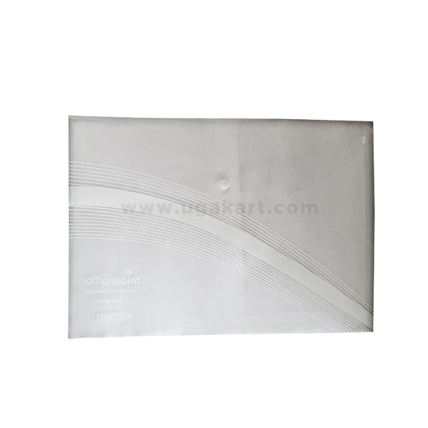 Sai'S Officepoint White Clear Bag
