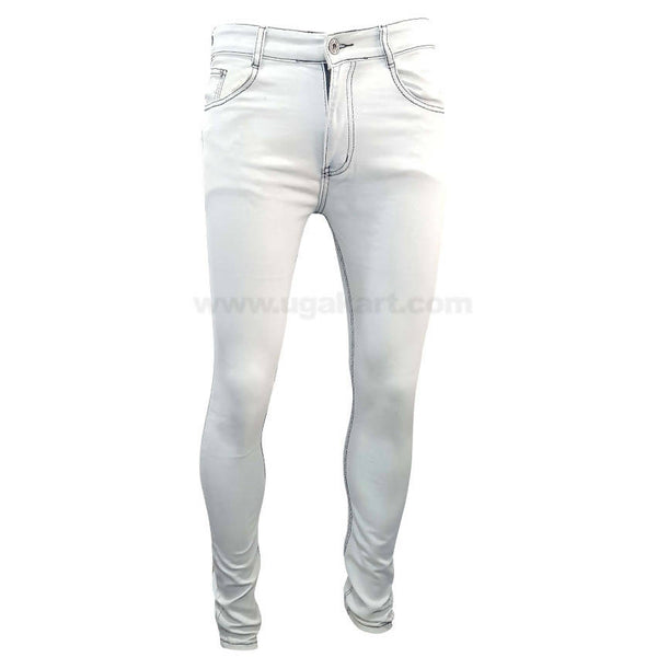 Garage Mix White Jeans For Mens