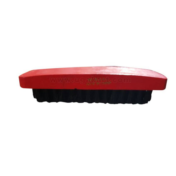 Wooden Red And Black Shoe Brush 4.5Inches