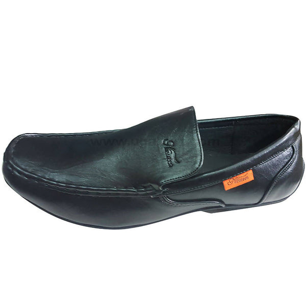 Leather Gentlemen Shoes for Men-Black(Size-41 to 44)