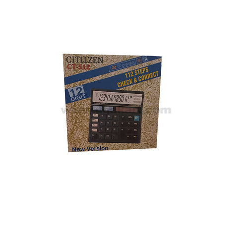 Citllzen Ct-512 12 Digit Calculator