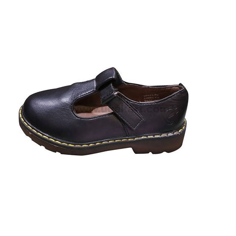 Black Leather shoe for Boys