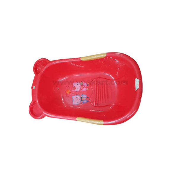 Bathing Tub For Baby-Red