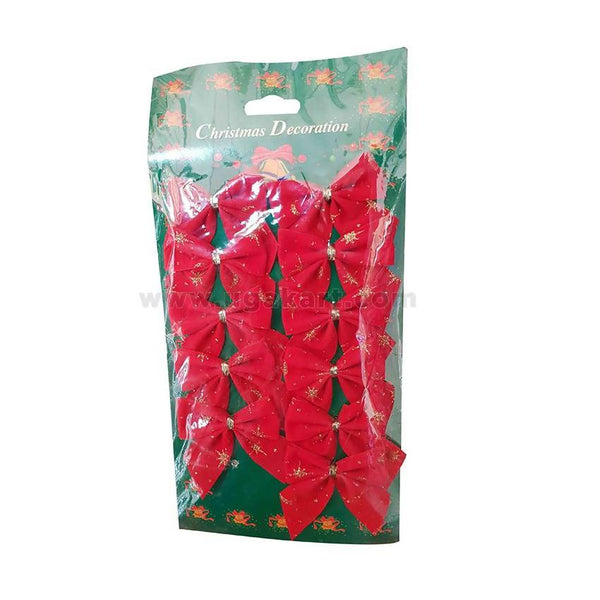 Christmas Tree Decoration Red Ribbon