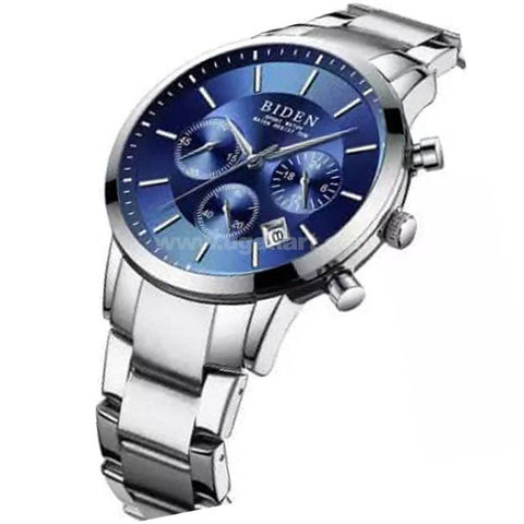BIDEN Blue Mens Watch