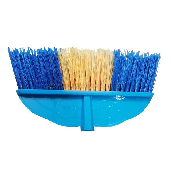 Wall Brush With Handle-Blue & Yellow