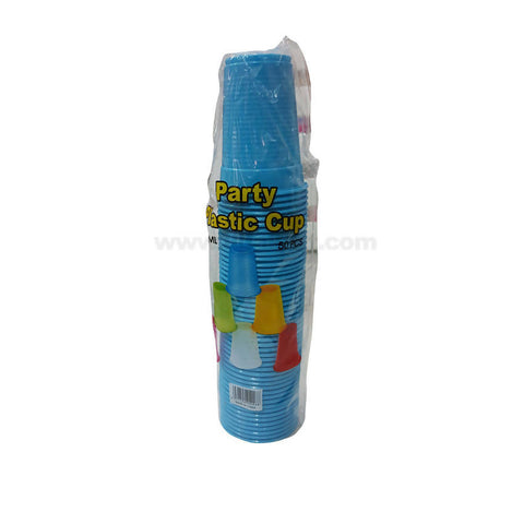Party Plastic Cup_50Pcs_Blue