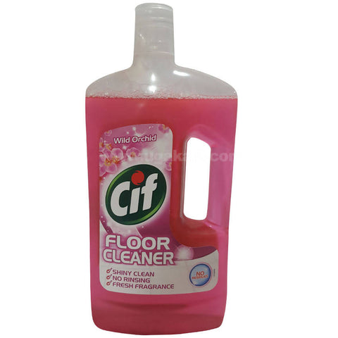 Cif Floor Cleaner - Wild Orchid, 1L Bottle