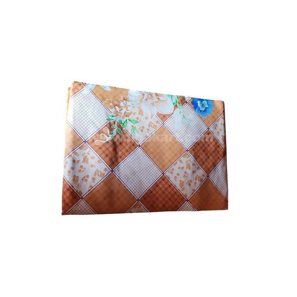 3*6 TWO BedSheetS_Brown Flower