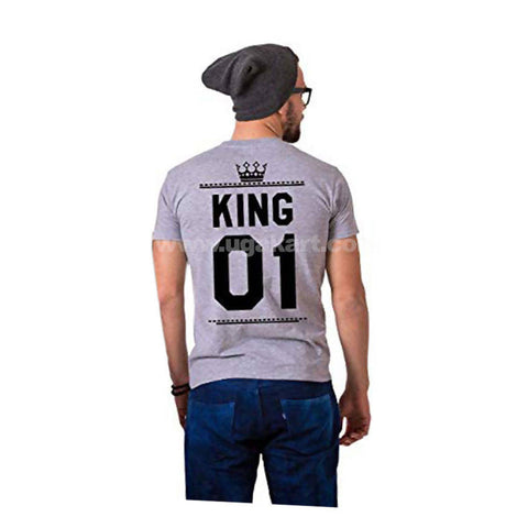King Crown printed Men's T-Shirt