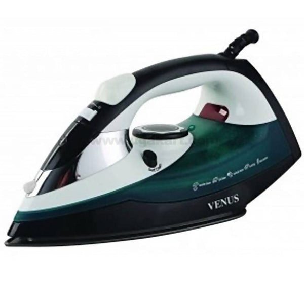 Venus Steam Iron - VSI22_Black & Green