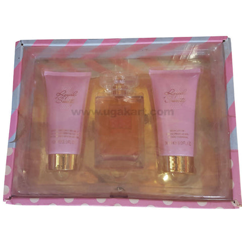Royal Sweety Body Lotion &Shower Gel With Perfume Gift Box_Pink