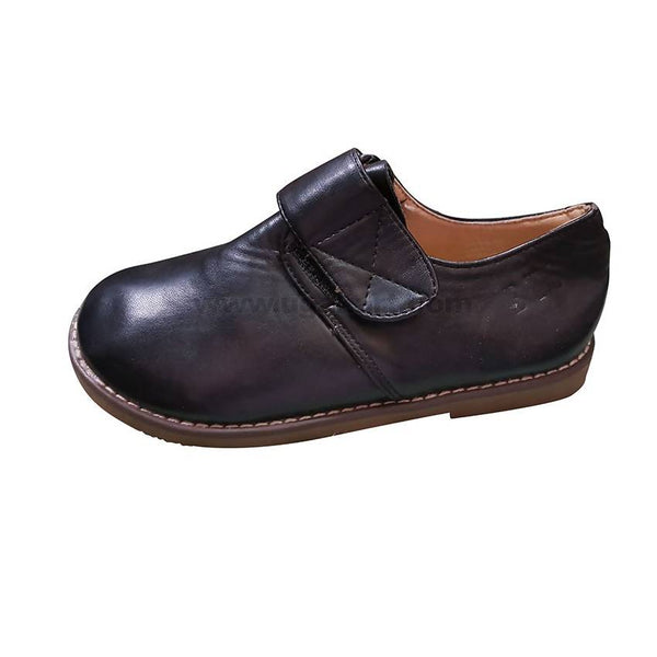Faux leather Black shoe For Boys